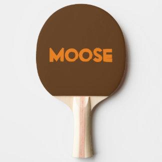 Moose Ping Pong Paddle