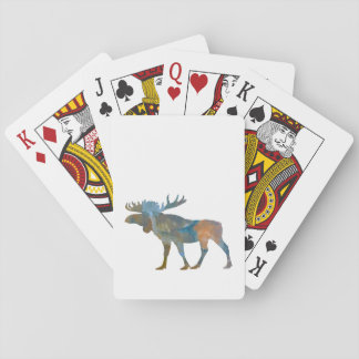 Moose Playing Cards