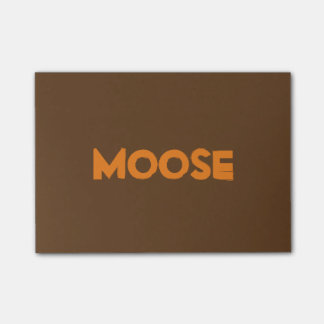 Moose Post-it® Notes