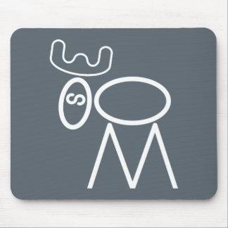 Moose Puzzle Mousepad