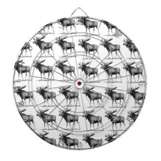 moose repeat moose dartboard