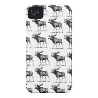 moose repeat moose iPhone 4 case