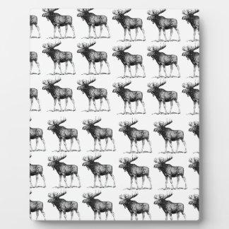 moose repeat moose plaque