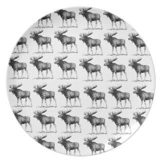 moose repeat moose plate