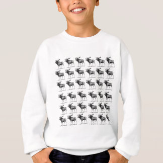 moose repeat moose sweatshirt