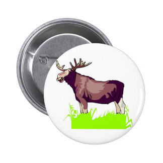 Moose Shirts and Gifts 121 Pinback Buttons