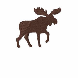 Moose Silhouette (Color Customizable) Polo
