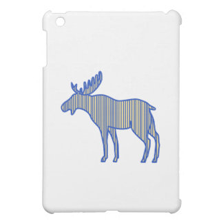 Moose Silhouette Drawing iPad Mini Cover