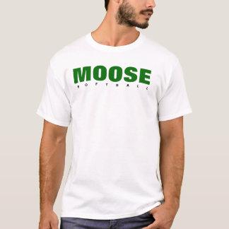 Moose Softball T-Shirt