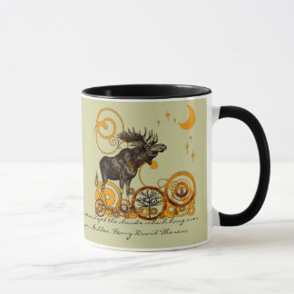 Moose Stein-Walden, Henry David Thoreau Quote Mug