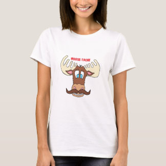 moose-tache T-Shirt