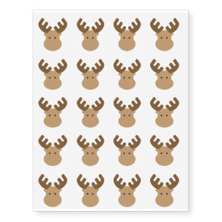 Moose Temporary Tattoos