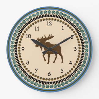 Moose Time Wall Clocks