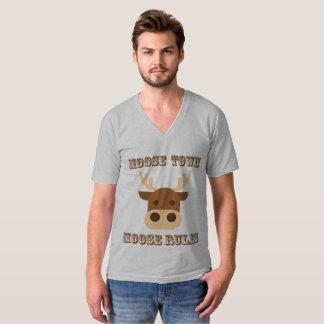 MOOSE TOWN MOOSE RULES APPAREL T-Shirt
