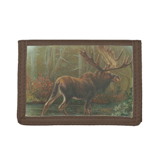 Moose Trifold Wallet