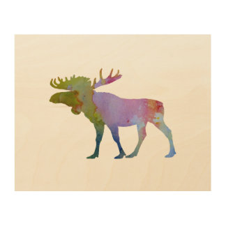 Moose Wood Wall Art