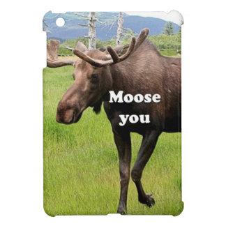 Moose you: Alaskan moose Cover For The iPad Mini