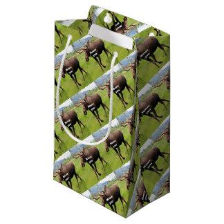 Moose you: Alaskan moose Small Gift Bag