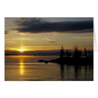 Moosehead Lake, Maine Card