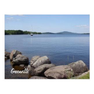Moosehead Lake postcard