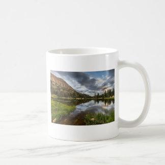 Moosehorn Lake in Utah Basic White Mug