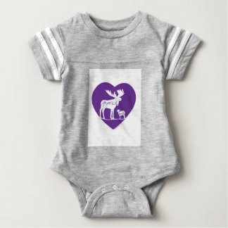 mooselambLOVE Baby Bodysuit