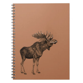 Moosey Spiral Notebooks