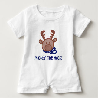 Moosey the Moose Keiki Aloha Romper Baby Bodysuit