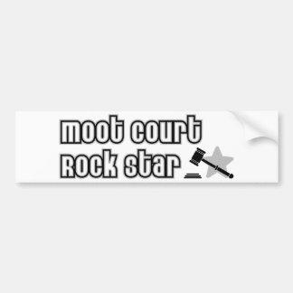 Moot Court Rock Star Bumper Sticker
