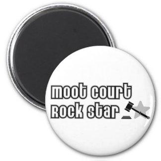 Moot Court Rock Star 6 Cm Round Magnet