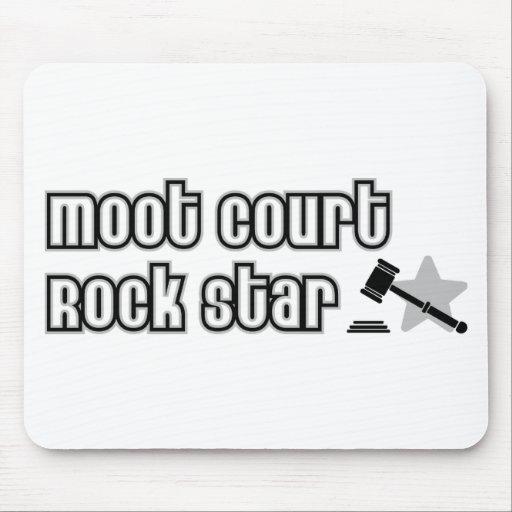 Moot Court Rock Star Mouse Mat