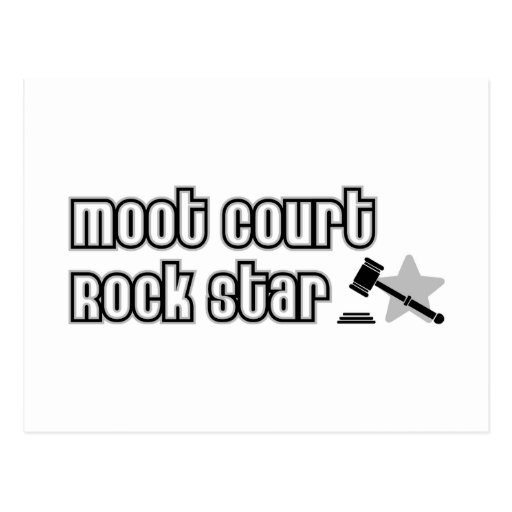 Moot Court Rock Star Post Card