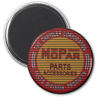 mopar blinds retro garage sign magnet