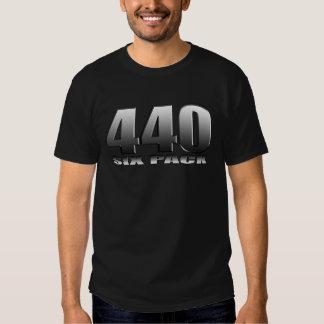 Mopar Dodge 440 Six Pack Tee Shirts