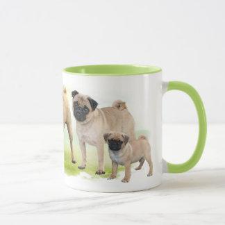 Möpse - beige mug