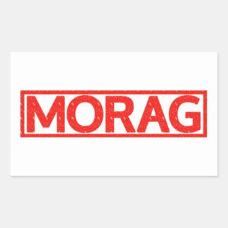 Morag Stamp Rectangle Sticker