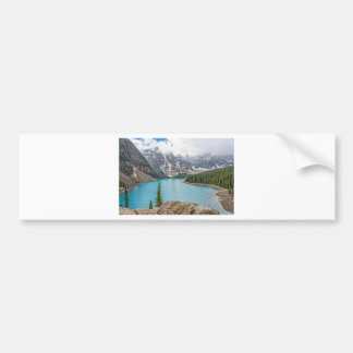 Moraine Lake After the Storm Bumper Sticker