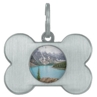 Moraine Lake After the Storm Pet Name Tags