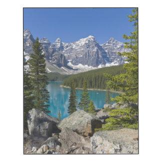 Moraine Lake, Canadian Rockies, Alberta, Canada