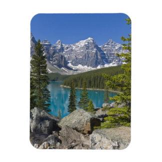 Moraine Lake, Canadian Rockies, Alberta, Canada Magnet