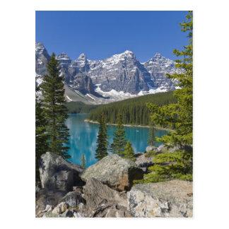 Moraine Lake, Canadian Rockies, Alberta, Canada Postcard