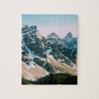 Moraine Lake Mountains in Alberta, Canada Jigsaw Puzzle