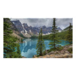 Moraine Lake Pano Poster
