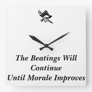 Morale Clock