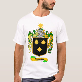 Moran Family (Irish) Coat of Arms T-Shirt