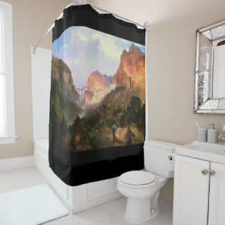 Moran Golden Gate the Yellowstone Shower Curtain