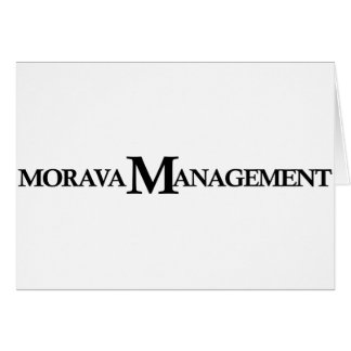 Morava Management Greeting Card