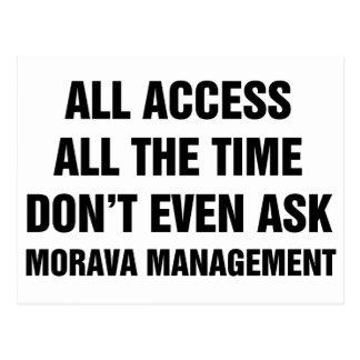 Morava Management Postcard