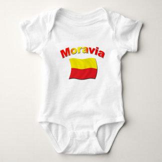 Moravia Flag 3 Tee Shirts