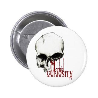 Morbid Curiosity TV Official Merchandise 6 Cm Round Badge